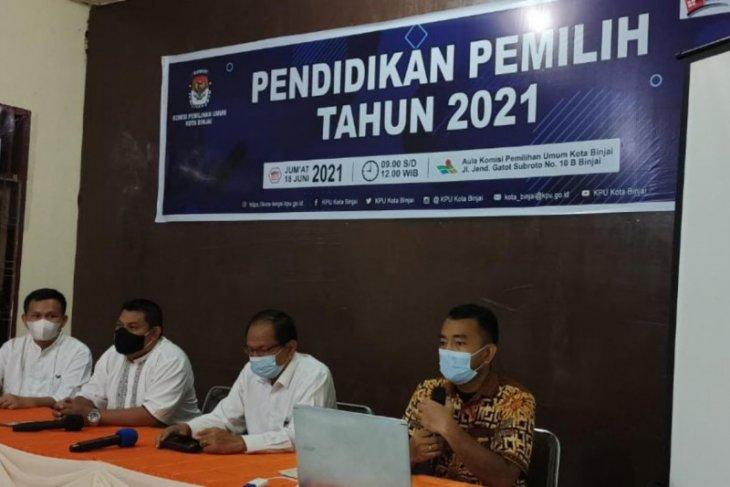 KPU Binjai adakan pelatihan pemilih berkelanjutan