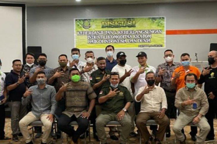 Pekrindo-asosiasi kratom Indonesia dorong Pemprov Kalbar terbitkan regulasi tataniaga kratom