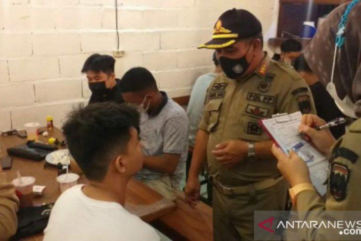 Tim Yustisi Belitung jaring 34 pelanggar protokol kesehatan