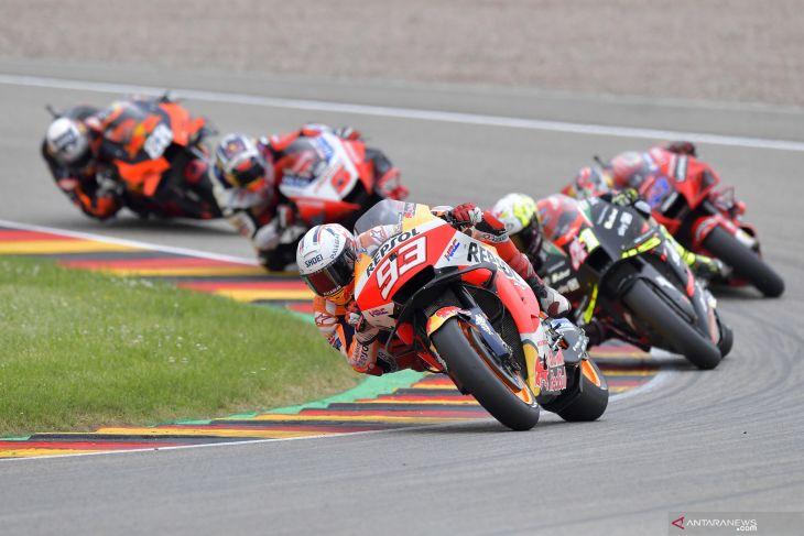 MotoGP: Juara GP Jerman, Marquez pertahankan status sebagai Raja Sachsenring
