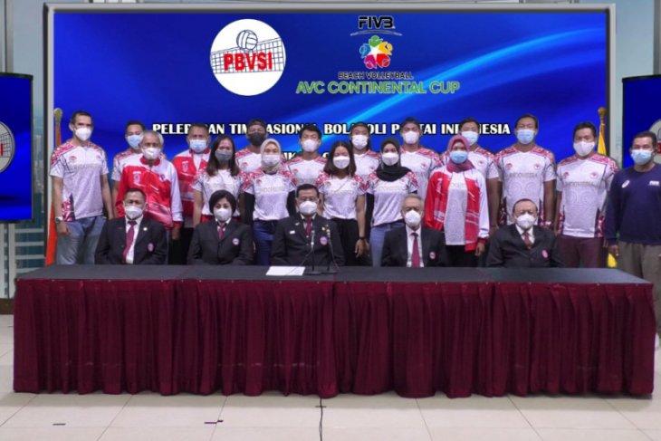 Timnas voli Indonesia pantai siap berlaga pada kualifikasi Olimpiade di Thailand