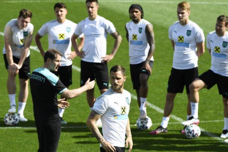 Euro 2020, susunan pemain Ukraina vs Austria