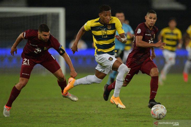 Diimbangi Venezuela di menit akhir, Ekuador gagal petik tiga poin
