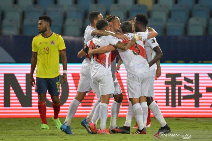 Copa America 2021, Peru sukses tekuk Kolombia 2-1