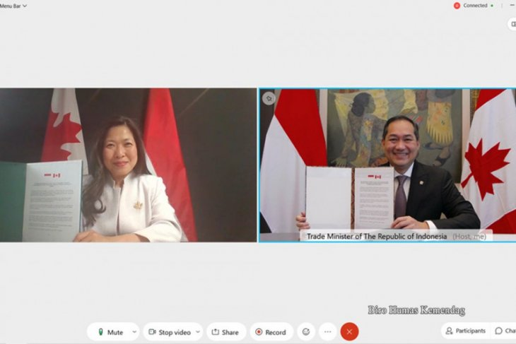 Indonesia, Canada launch negotiations on trade pact