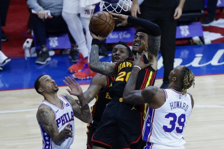Basket NBA,  Huerter bawa Hawks tekuk unggulan pertama Sixers di gim ketujuh