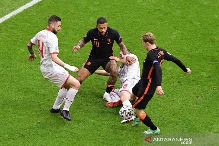Euro 2020: Belanda sapu bersih fase grup dengan babat Makedonia Utara 3-0