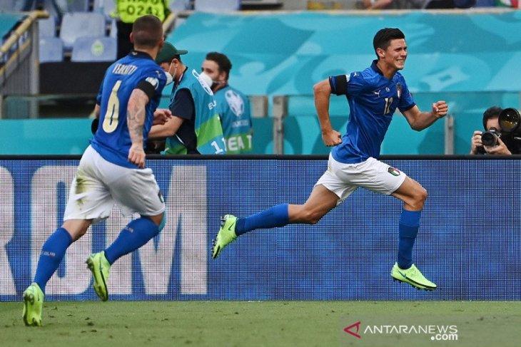 Italia tundukkan Wales 1-0, keduanya lolos 16 besar