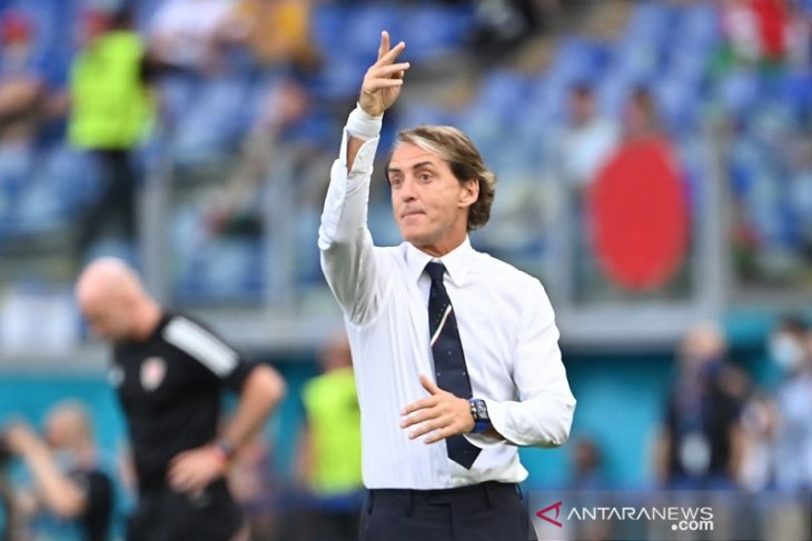 Euro 2020: Catat 30 laga nirkalah, Mancini samai rekor pelatih legendaris Italia Vittorio Pozzo
