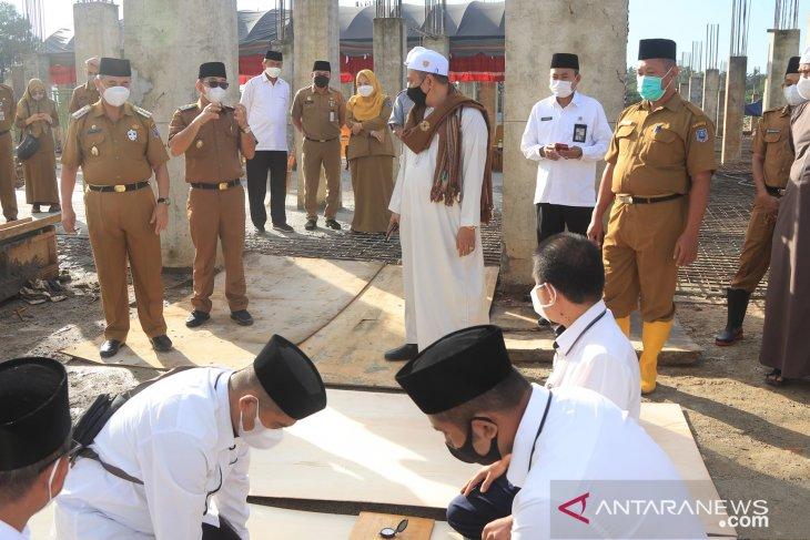 Pembangunan Islamic Center HSS masuki tahap pembangunan mesjid induk