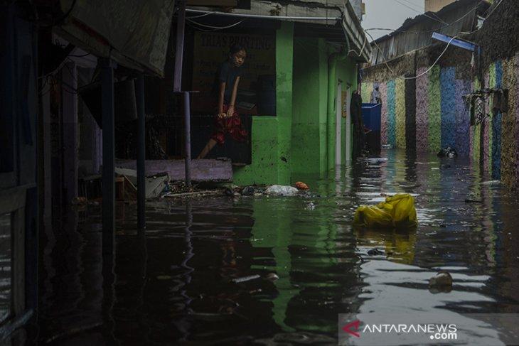 Banjir rendam permukiman warga di Kota Bandung