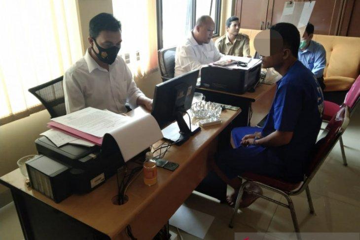 Polsek Ciwandan amankan pencuri HP di Warung Sembako