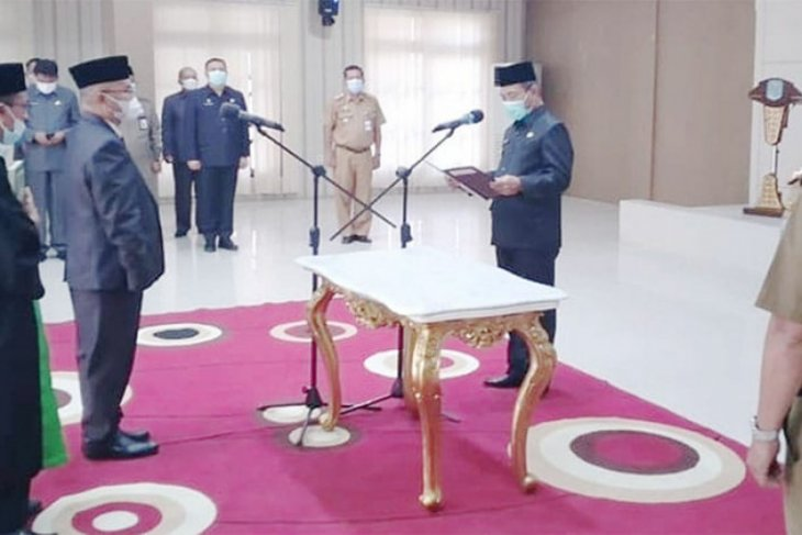 Muktamar Hamdi resmi menjabat sebagai Pj Sekda Merangin