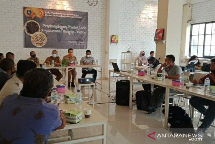 Disperindag Babel gelar pelatihan dan pendampingan lada kepada pelaku IKM di Bangka Selatan