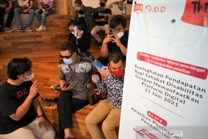 JD.ID dan ThisAble Foundation gelar lokakarya bisnis digital disabilitas