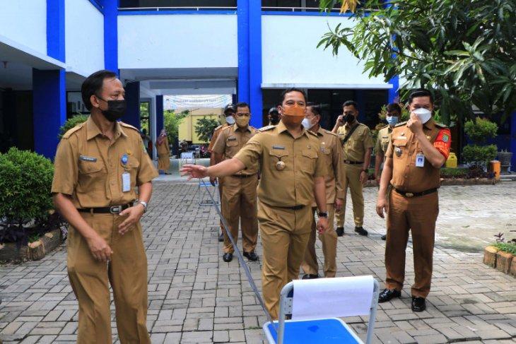 Pemkot Tangerang gunakan ruang kelas SMP Negeri 27 tempat isolasi pasien COVID-19