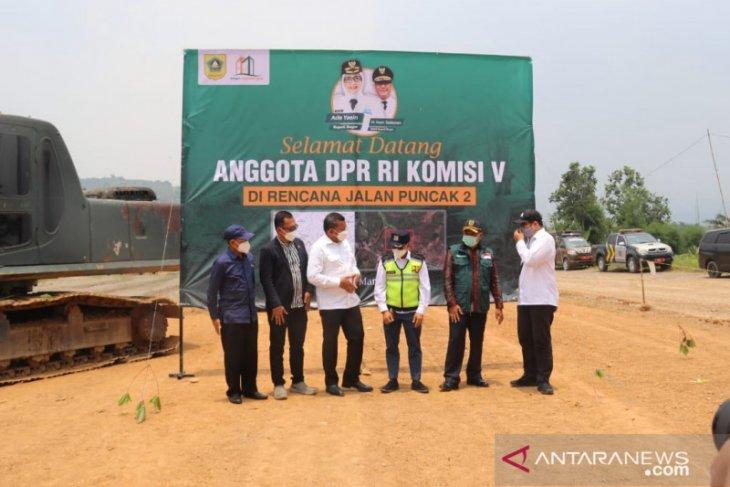 Bupati Bogor sedang cari cara lain danai pembangunan Jalur Puncak II