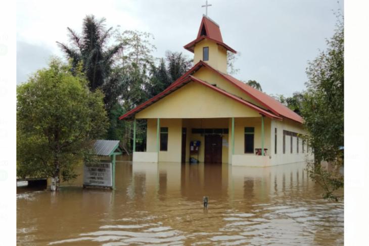 Banjir melanda empat desa di Kapuas Hulu
