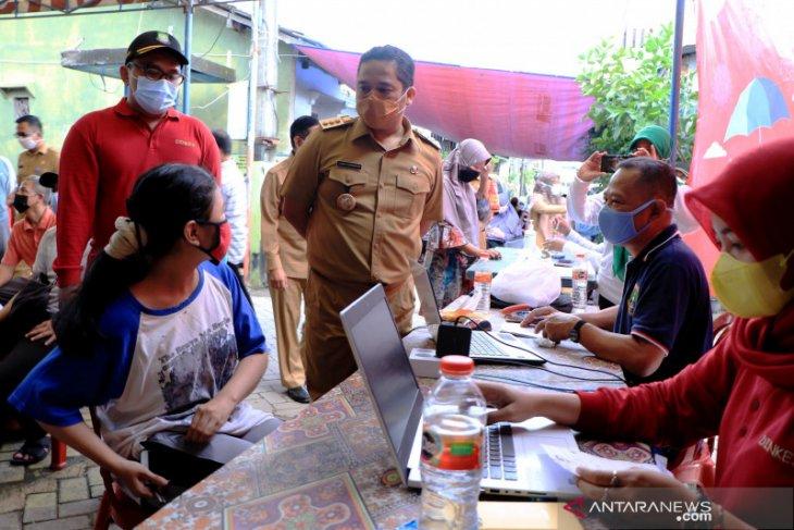 Vaksinasi COVID-19 digelar Pemkot Tangerang di zona merah