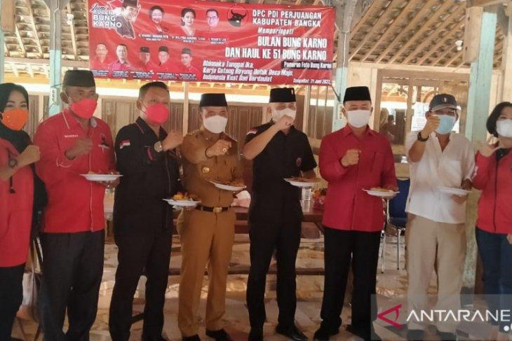 DPC PDI Perjuangan Bangka gelar Bulan Bung Karno