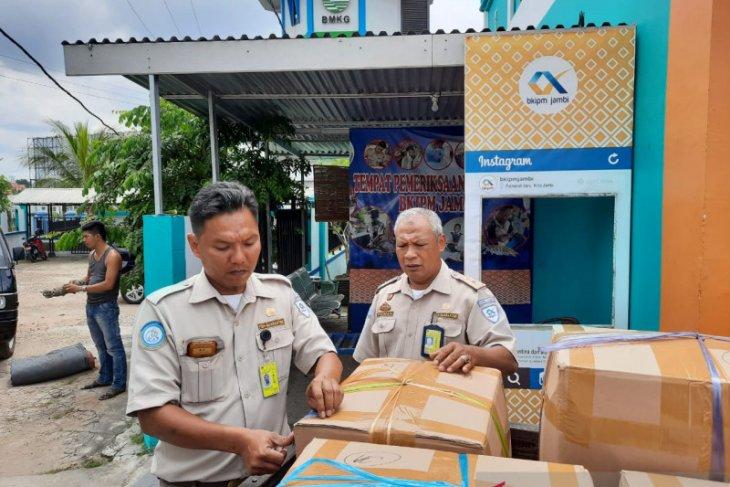 Udang belalang dominasi ekspor perikanan dari Provinsi Jambi