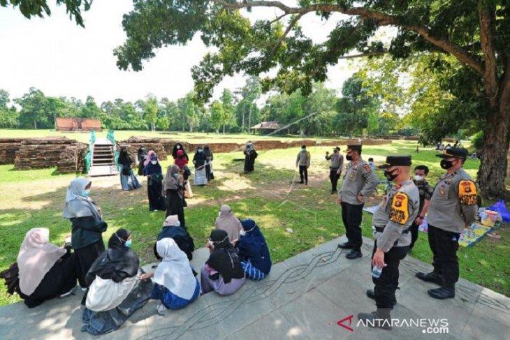 Polres Muarojambi gelar pemantauan pelaksanaan prokes tempat wisata
