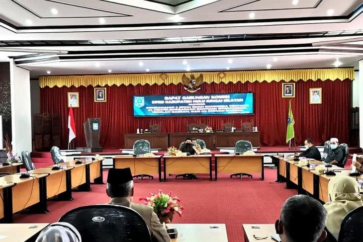 Komisi gabungan DPRD HSS sepakati bahas dua Raperda