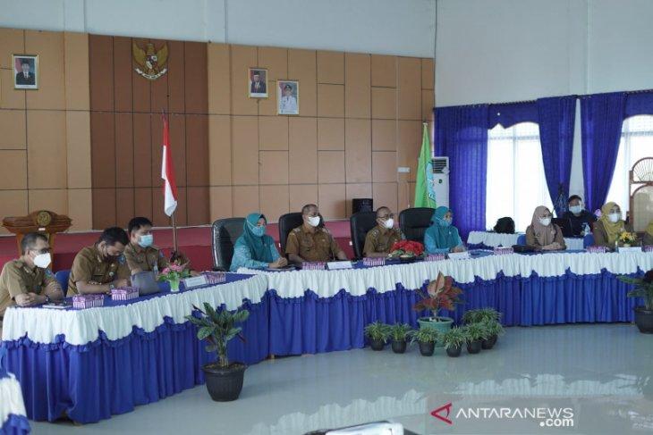 Desa Sungai Kupang dan Kandangan Kota ikuti penilaian secara virtual