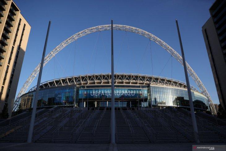 Lebih dari 60.000 fans diizinkan tonton semifinal dan final di Wembley Piala Eropa