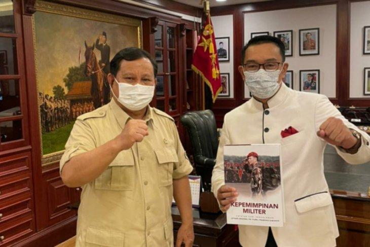 Ridwan Kamil bertemu dengan Prabowo