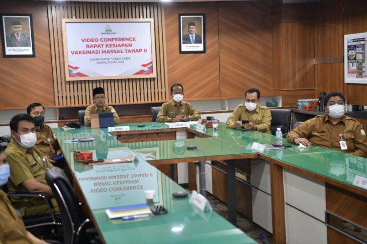 Vaksinasi ASN di Aceh berlanjut