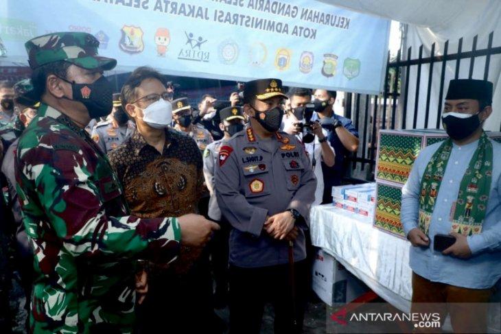 Cegah COVID-19, Panglima TNI puji sistem jaga 24 jam di Cilandak
