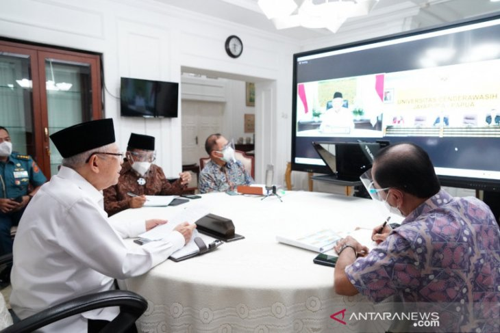 Expect Cenderawasih University to serve as think tank: VP