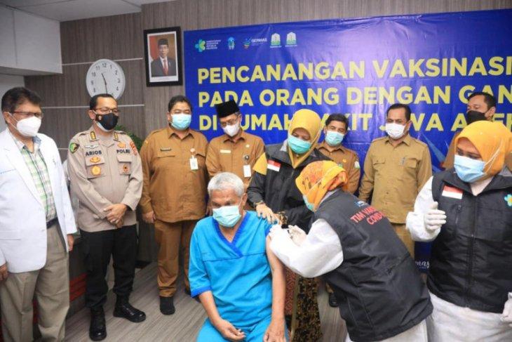 Tekan penyebaran COVID-19, Pemerintah Aceh canangkan vaksinasi disabilitas mental di RSJ