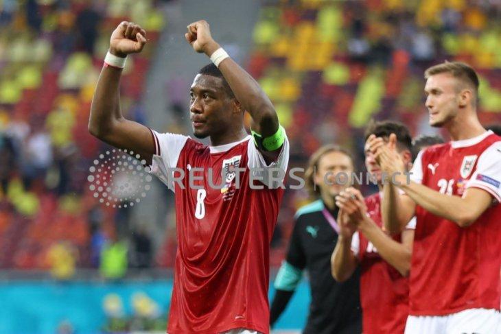 Euro 2020, Austria ke 16 besar setelah menang 1-0, Ukraina menunggu