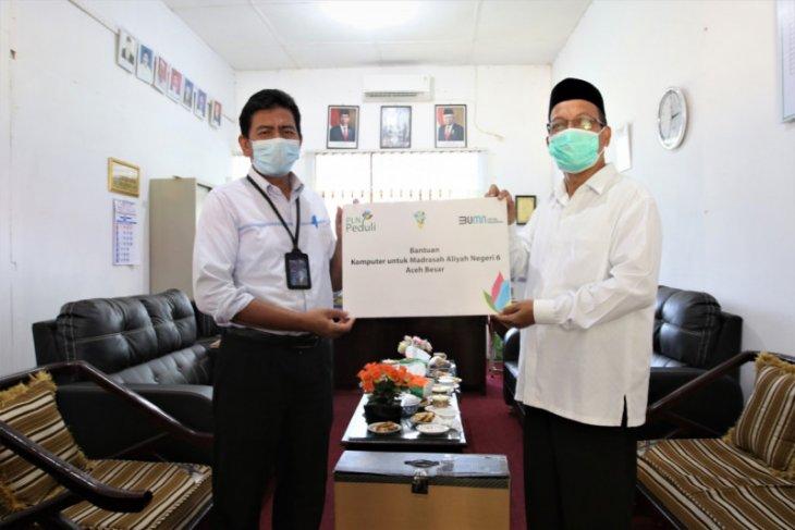 Tingkatkan sektor pendidikan di Aceh Besar, ini bantuan PLN UIW Aceh