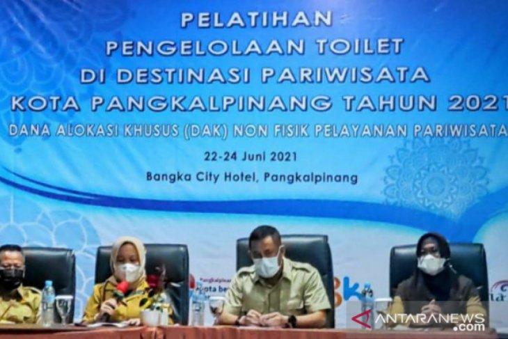 Ciptakan destinasi wisata bersih, Pemkot Pangkalpinang adakan pelatihan pengelolaan toilet