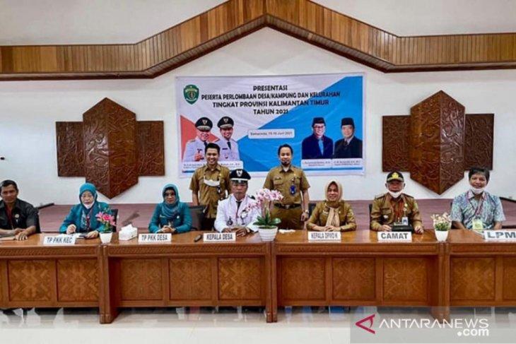 Kabupaten PPU juara II lomba desa tingkat Provinsi Kaltim