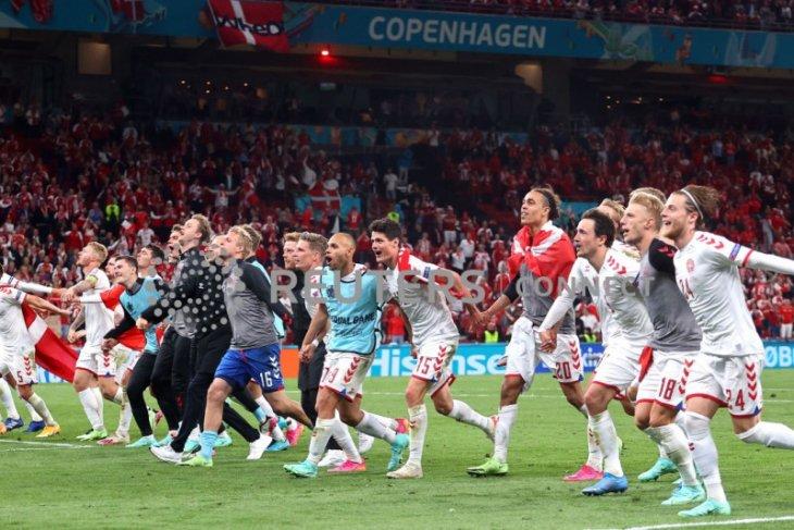 Klasemen terakhir Grup B, Denmark akhirnya ke 16 Besar