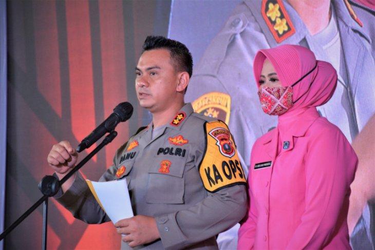 Kapolres AKBP Danu Pamungkas Totok berharap dukungan dalam mengemban tugas