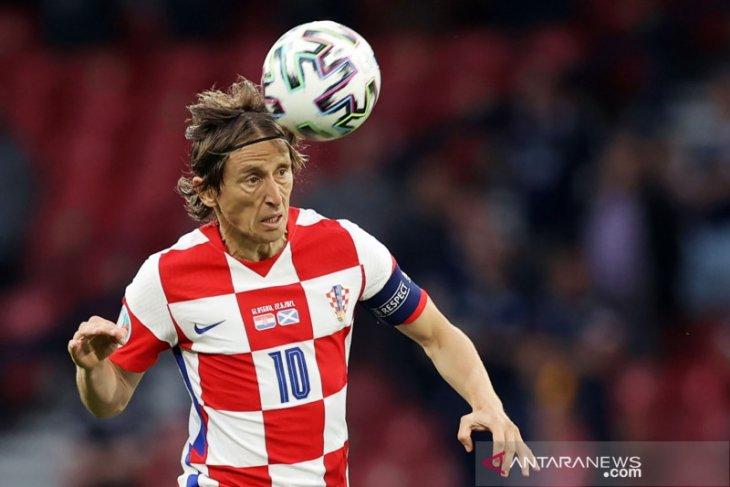 Luka Modric Si Lincah yang menyatukan skuad Kroasia di Euro 2020