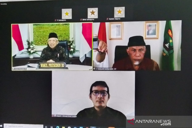 Maruf Amin, meminta ulama menjaga umat dari bahaya hoaks