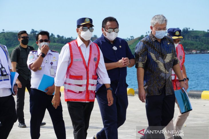 Menhub minta pengembangan Pelabuhan Anggrek Gorontalo dikerjakan profesional