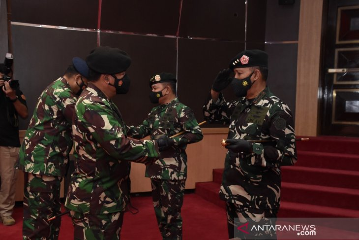 Pangkostrad dan 29 Pati TNI terima kenaikan pangkat