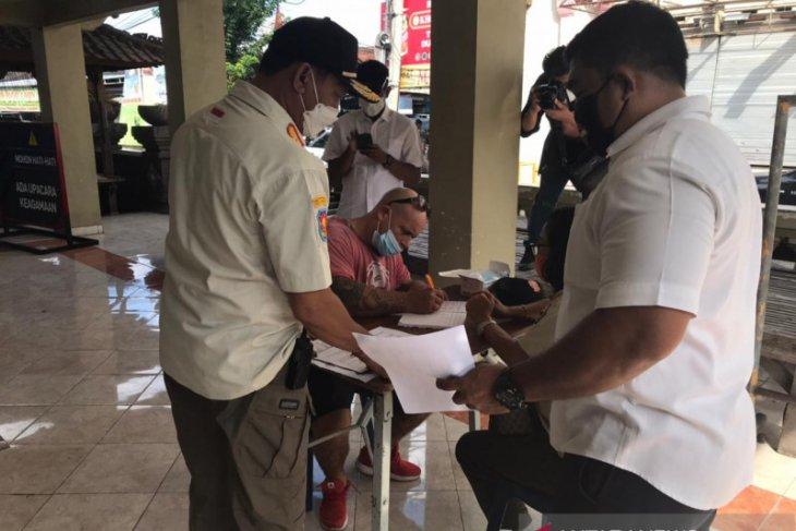 Tim Yustisi Denpasar jaring 30 pelanggar protokol kesehatan