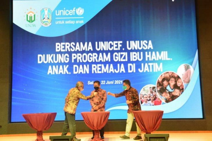 Gandeng Pemprov Jatim dan Unicef, Unusa luncurkan program pengurangan