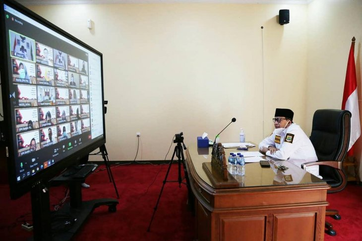 Gubernur Wahidin  tegaskan komitmen ciptakan Banten bersih berintegritas