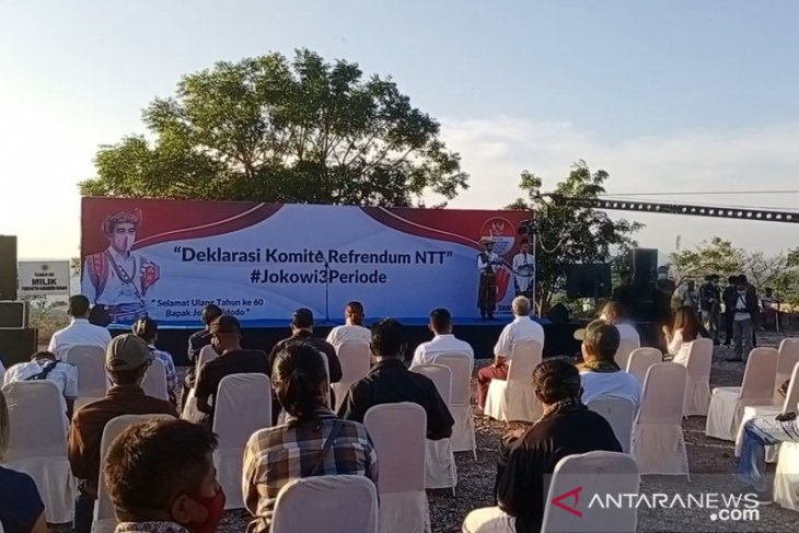 Deklarasi referendum Jokowi tiga periode langgar konstitusi