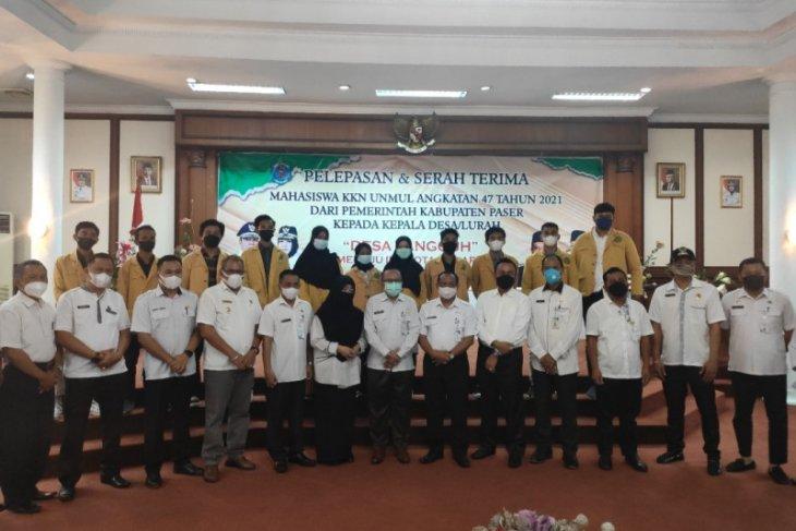 Pemkab Paser  terima 58 mahasiswa peserta KKN