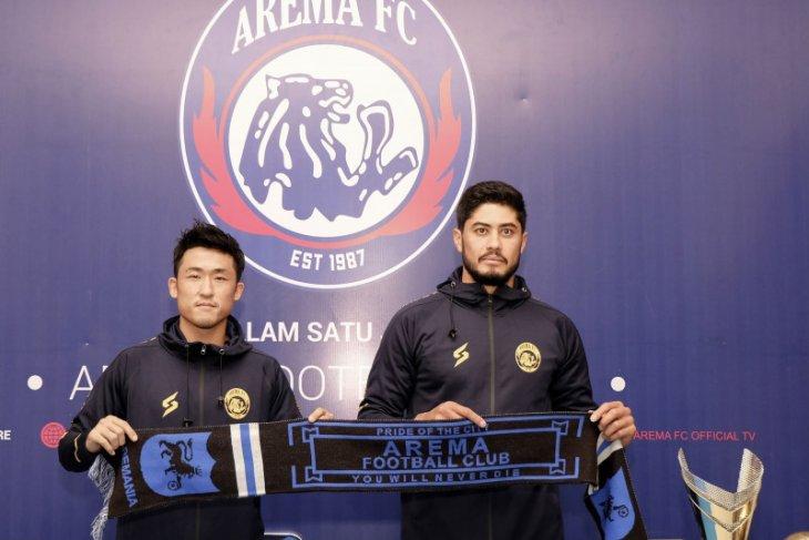 Dua pemain asing baru ingin bawa Arema FC juara Liga 1